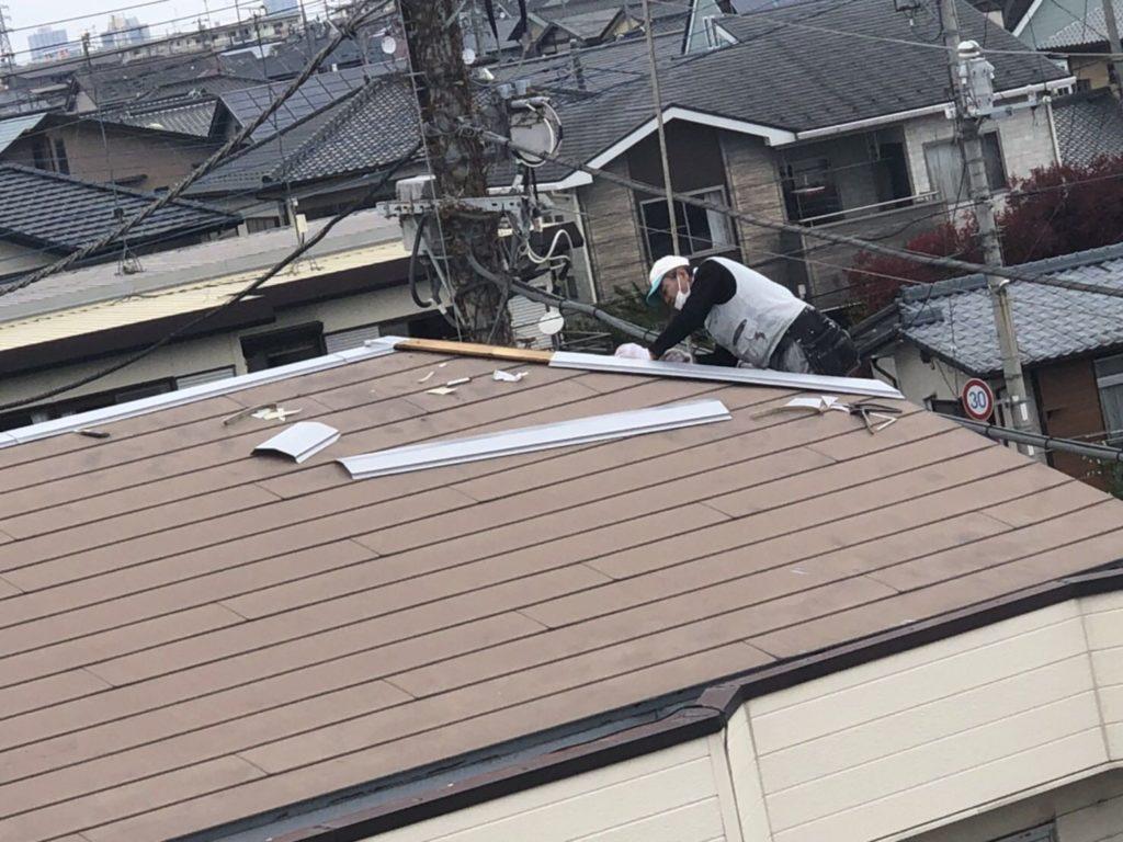 屋根の差し替え