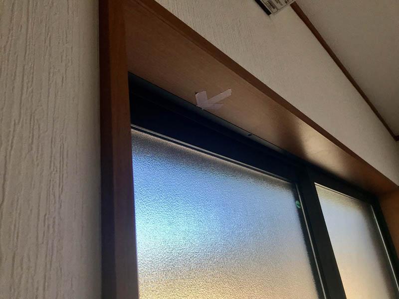 窓サッシの雨漏り